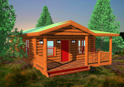 Full Line Small Cabins Cottages Affordable El Real Estate